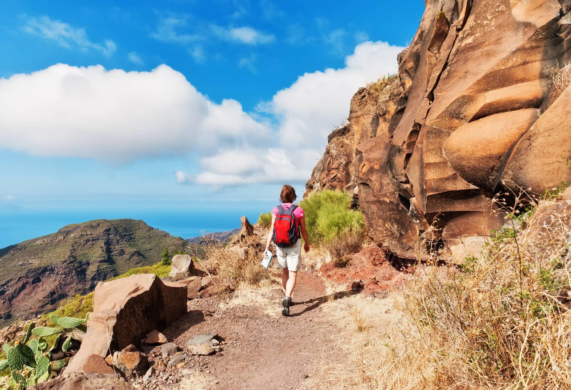 Escursionismo a Tenerife, Spagna.