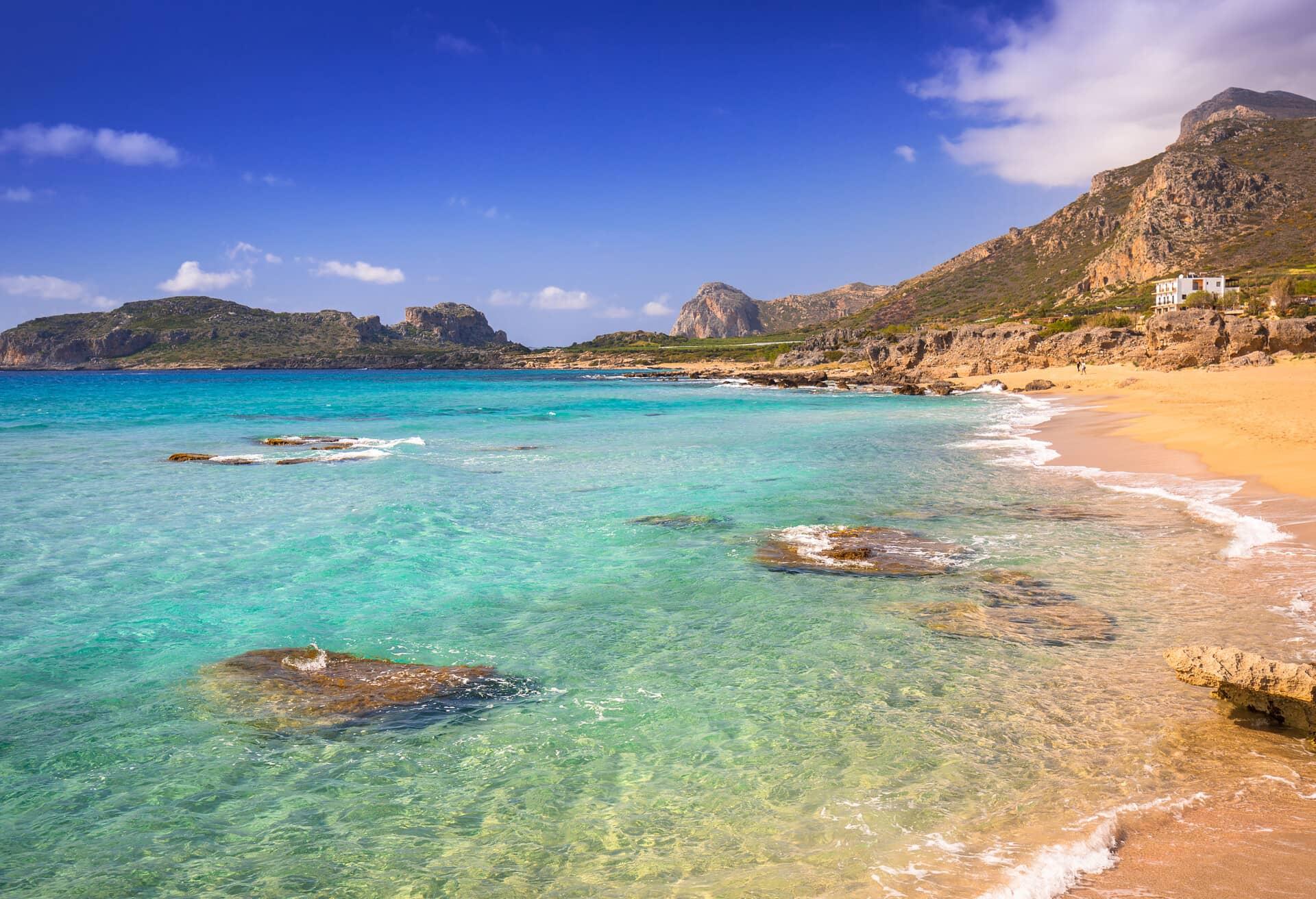 Creta è la migliore isola per una vacanza al mare.