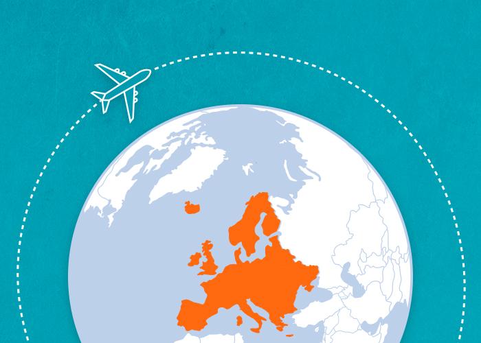 Gira l'Europa a meno di 1500 €