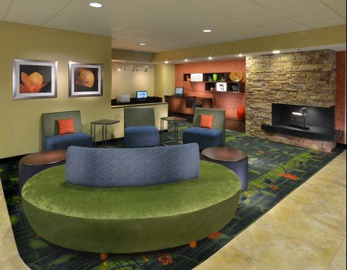 Fairfield Inn and Suites by Marriott Charlottesville North - Charlottesville - Ingresso